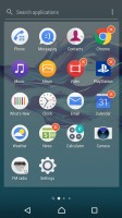 App management - Sony Xperia XA1 review