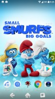 Smurfs theme - Sony Xperia XA1 review