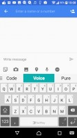 Swiftkey keyboard is the default text input method - Sony Xperia XA1 review