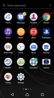 App drawer - Sony Xperia XZ Premium review