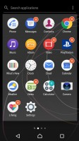 App management - Sony Xperia XZ Premium review