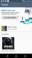 Xperia themes - Sony Xperia XZ Premium review