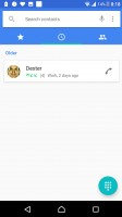 Call log - Sony Xperia XZ Premium review