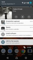 Music app - Sony Xperia XZs review