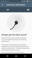 Audio settings - Sony Xperia XZs review