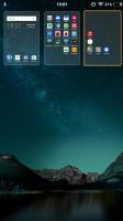 Managing the homescreen panes isn't easy - Vivo V5 review