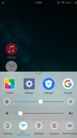 The Quick settings toggles and the task manager - Vivo V5 review