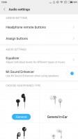 Audio settings - Xiaomi Mi Max 2 review