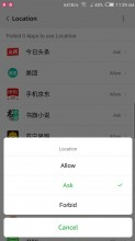 Powerful Permissions manager - Nubia Z17 review