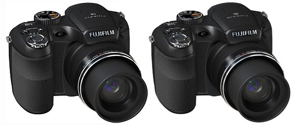 FujiFilm FinePix S1800 and S1600