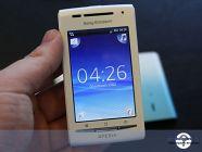 Sony Ericsson XPERIA X8 live photos