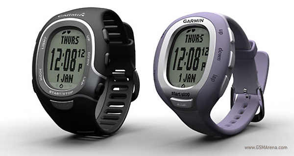 ANT+ enabled Garmin watch