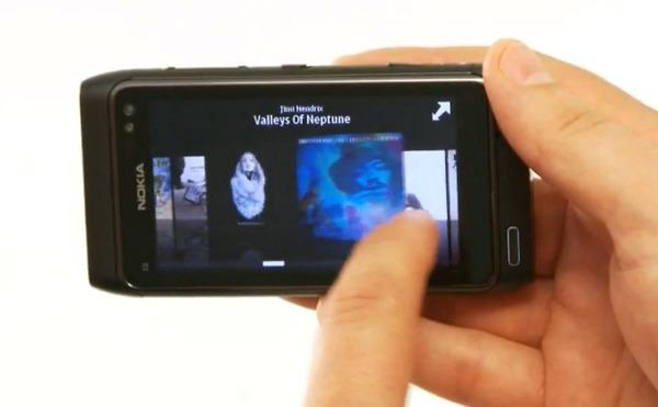 Nokia N8 album art