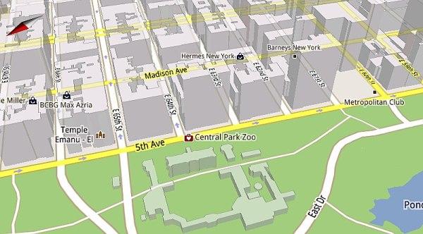 Google reveals the magic that powers Google Maps 5.0 – vector graphics