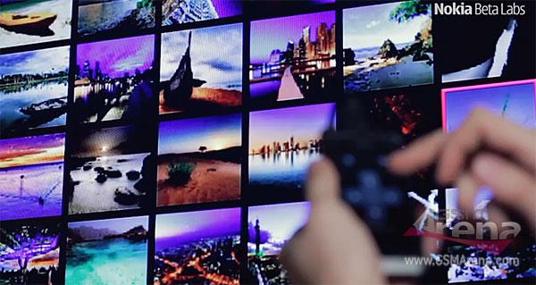 Nokia Big Screen App in Action