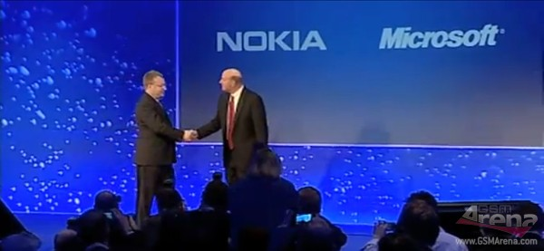 Nokia-Microsoft press conference