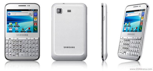 White Samsung Galaxy Pro