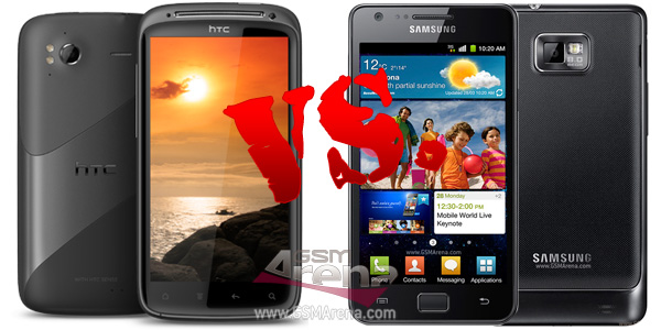 Clash of the titans – HTC Sensation vs. Samsung Galaxy S ...