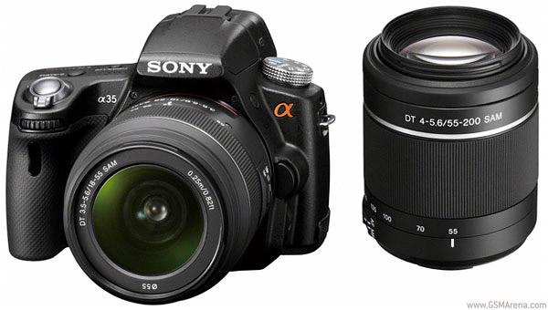 Sony Aplha A35 DSLR