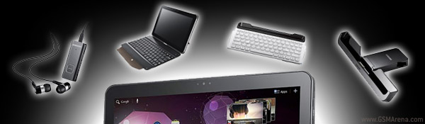 Galaxy Tab 10.1 accessories banner