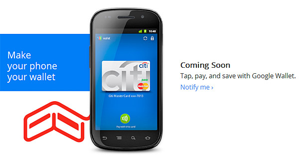 Google Wallet NFC on Nexus S