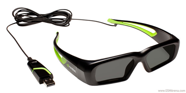 Nvidia Vision wired glasses
