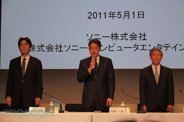 Kazuo Hirai from Sony