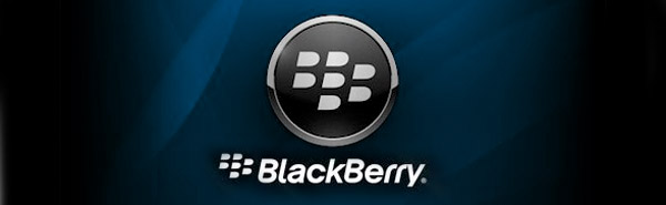 Blackberry logo and text