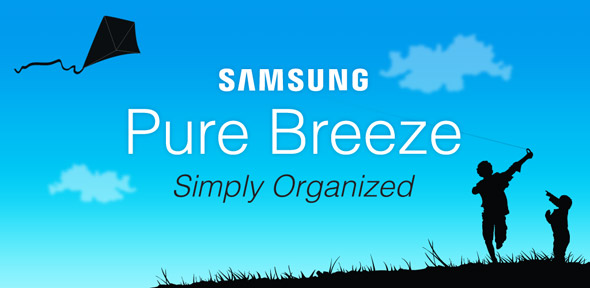 Samsung Pure Breeze UI Banner