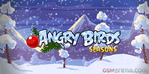 wreck the halls is the new christmas update for angry birds seasons video - Christmas Angry Birds