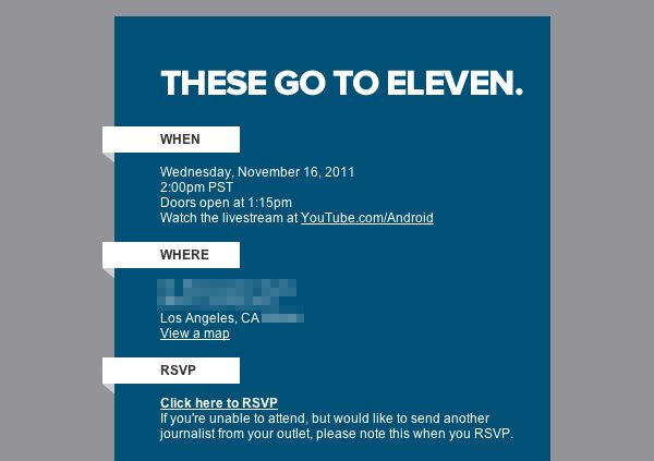 google sends out invites to mystery event on november 16 could be