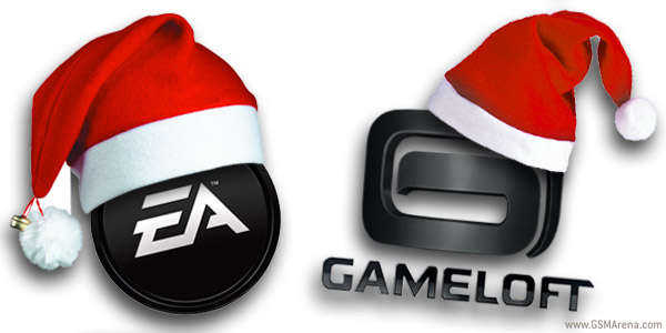 Festive fun from EA and Gameloft
