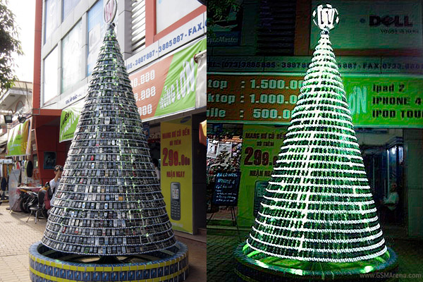 We take a look at this year s creative christmas trees - Sapin de noel exterieur ...