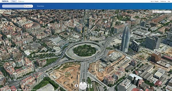 Nokia Maps D Gets Navigation POIs And Share Through An Update - 3d mapping software