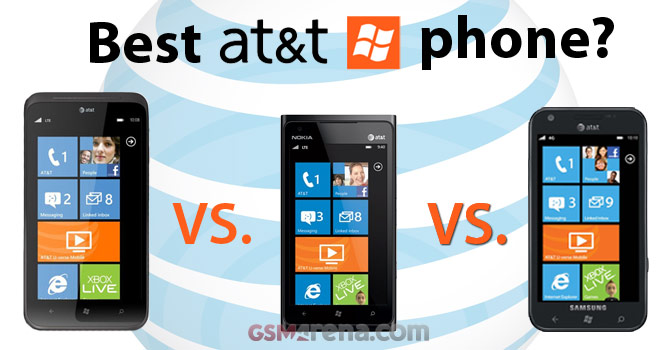 HTC Titan II vs. Nokia Lumia 900 vs. Samsung Focus S – the ...