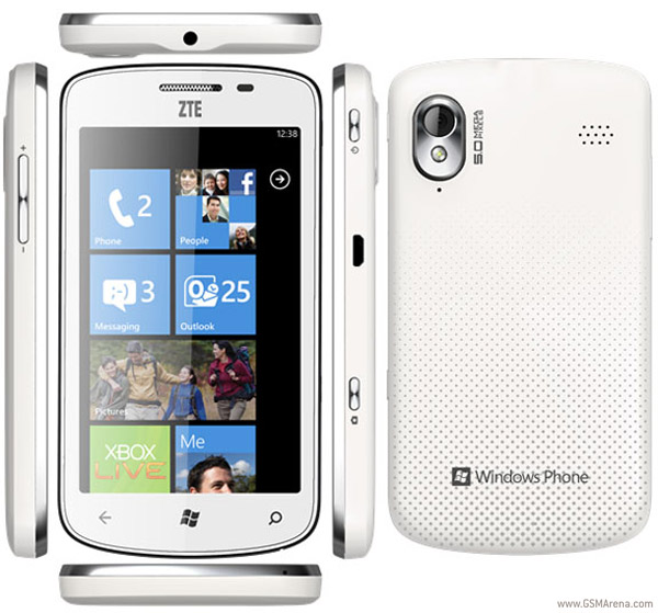 ZTE's new Windows Phone device, tania