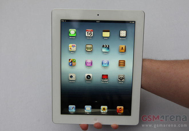 The new iPad 3 is here, we get a taste