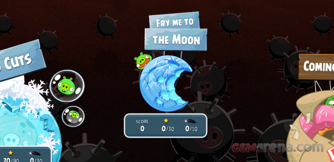 Angry Birds Space and Cut the Rope updated with new free ...