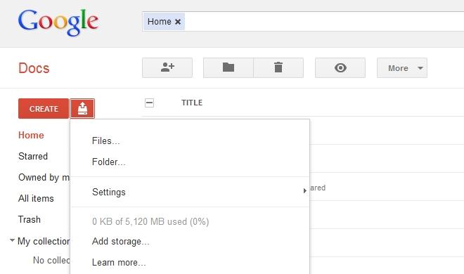 Google drive storage not updating best storage design 2017 for Google docs download storage