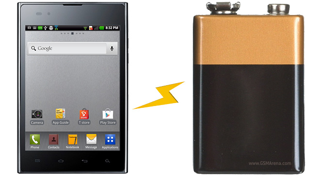LG Optimus Vu runs in our battery life marathon, see how ...