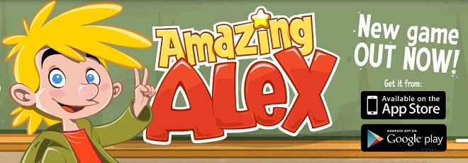 Amazing Alex now available in the iOS App Store, Google Play