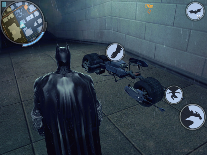 the dark knight game free  for android