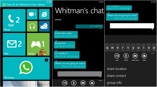 whatsapp for desktop windows