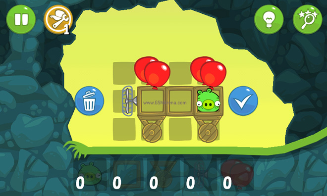 Bad piggies for ios and android game review if at all you do get stuck the game helps you out by building the vehicle for you you will still have to control it yourself after you start it but thats solutioingenieria Gallery