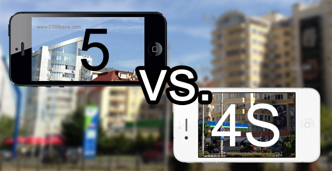 Camera Shootout IPhone 5 Vs 4S