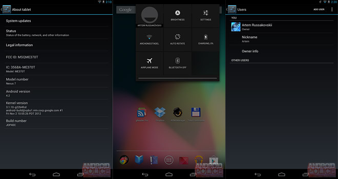android 4 2 jelly bean for nexus 7 available for manual update right now rh blog gsmarena com Android 2.2 Froyo Next Android Operating System