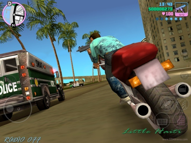 Grand Theft Auto: Vice City now out for iOS and Android