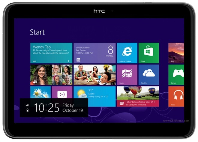 HTC said to be working on Windows RT tablets