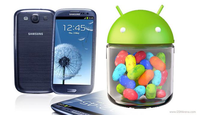 Samsung Galaxy S III Android 4.2.1 Jelly Bean test ...