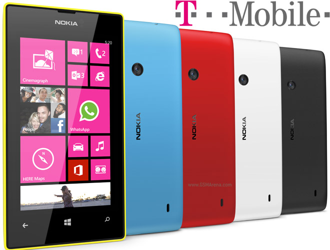 Nokia Lumia 521 bound to T-Mobile USA, WP8 for less